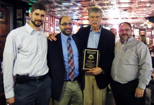 Skip Palenik receives 2014 Locard award.